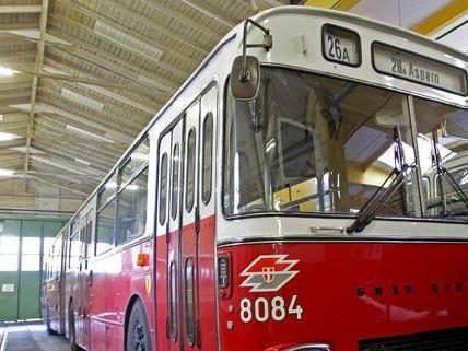 Das Straßenbahnmuseum wird umgebaut.
