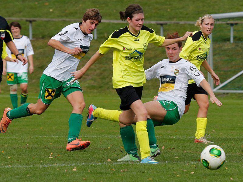 SPG FC Lustenau/Austria Lustenau/Höchst besiegt Vorderland knapp mit 1:0 und ist nicht mehr Letzter.