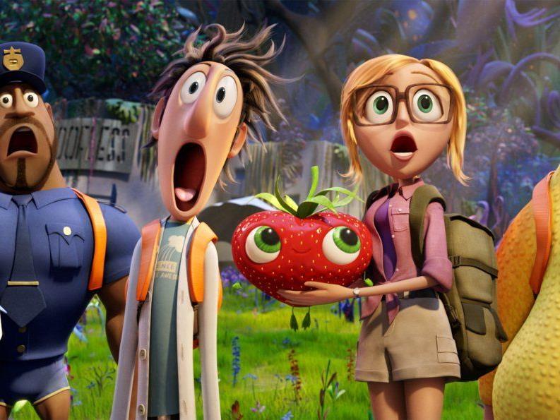 Wolkig mit Aussicht auf Fleischbällchen 2 - Ab 25. Oktober im Kino in 3D.!