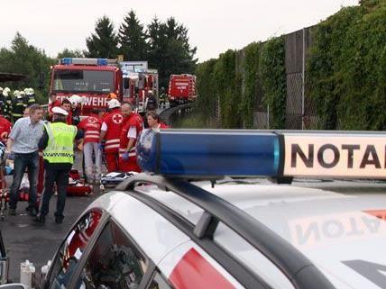 Tödlicher Verkehrsunfall am Montagvormittag.