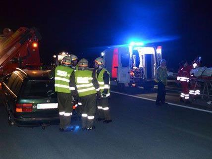 Nach dem Unfall wurde die S6 gesperrt.