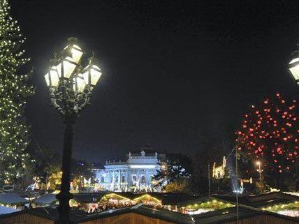 Heuer gibt es in Wien zwei neue Weihnachtsmärkte.