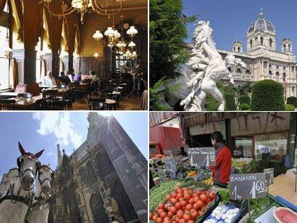 Wien-Tourismus bietet Vorschläge für den perfekten Tag in Wien.
