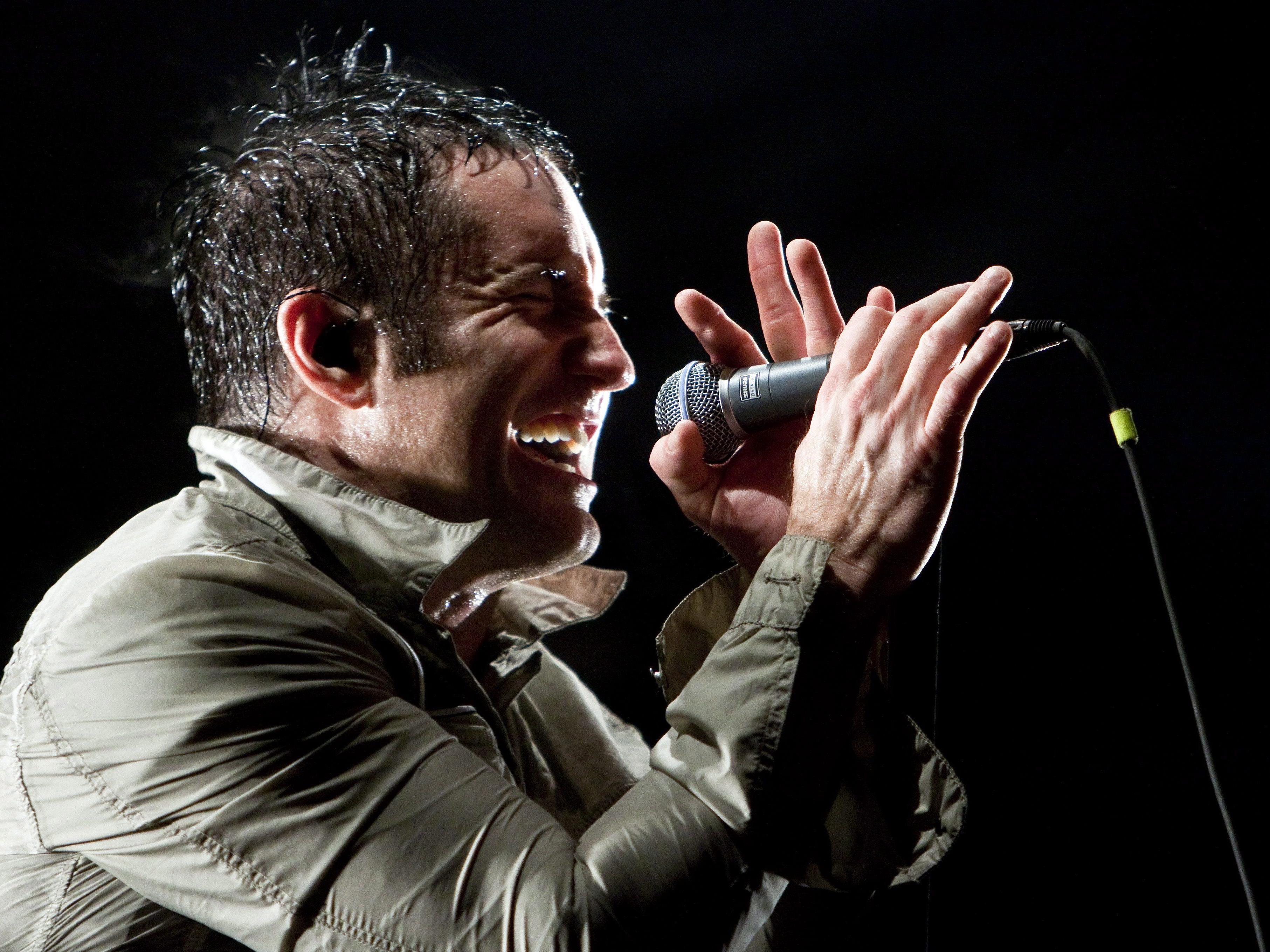 Nine Inch Nails statten im Juni 2014 der Wiener Stadthalle einen Besuch ab.