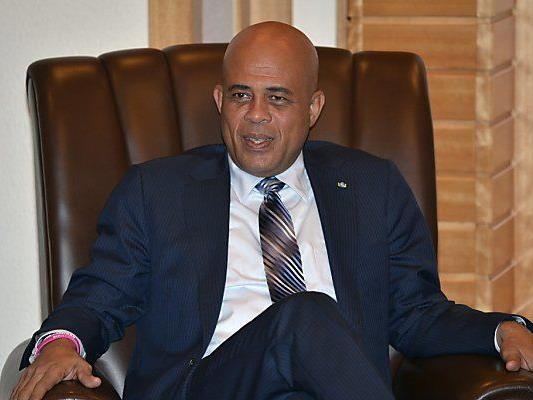 Protest gegen Präsident Michel Martelly