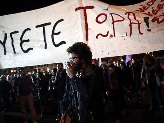 SYRIZA hatte Teile der Bevölkerung hinter sich