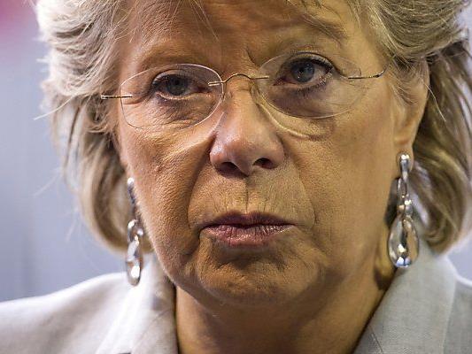 EU-Kommissarin Reding sprach mit US-Justizminister