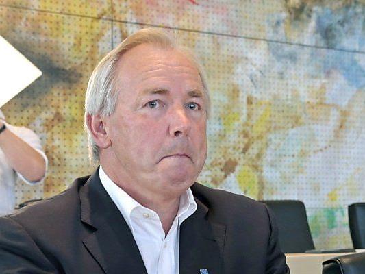 Der nunmehrige Bundesrat Gerhard Dörfler