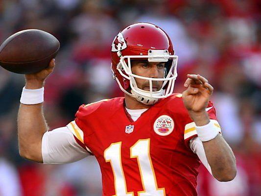 Quarterback Smith führt die Chiefs zu Sieg um Sieg
