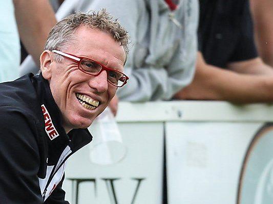 Peter Stöger bleibt der Erfolg treu