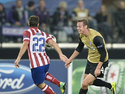 Stürmer Roman Kienast will in Madrid treffen