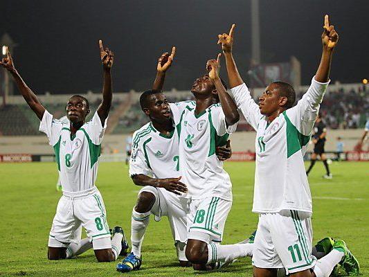 Nigeria besiegte Mexiko in der Vorrunde 6:1