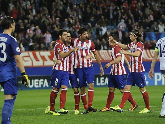 0:7 in den Duellen gegen Atletico