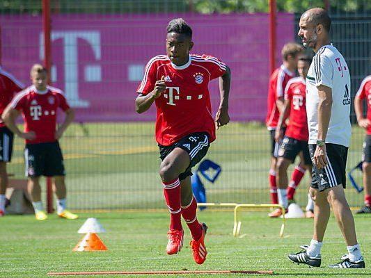 Guardiola und Alaba - das klappt