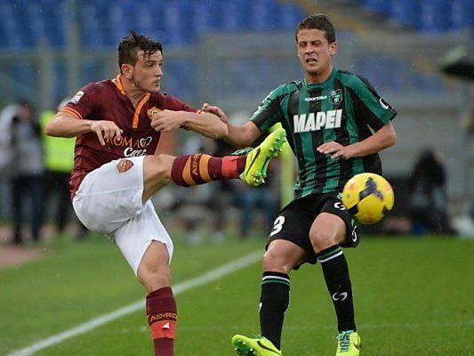 Nachzügler Sassuolo rang Roma ein Remis ab