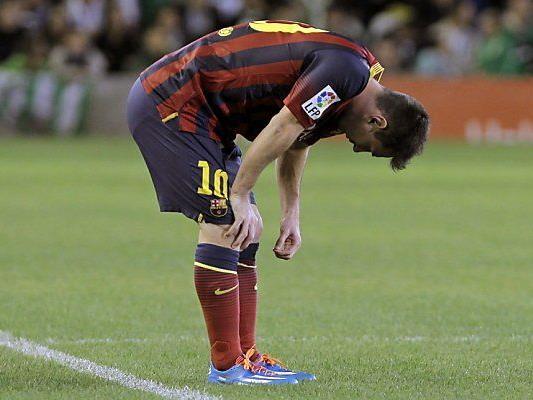 Messi mit durchwachsener Saison