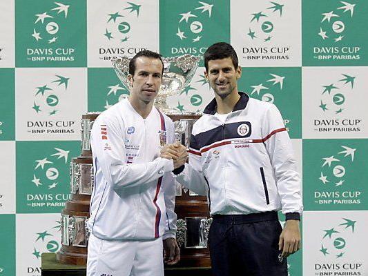 Stepanek und Djokovic eröffnen das Finale