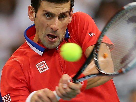 Djokovic besiegte Stepanek mit 7:5,6:1,6:4