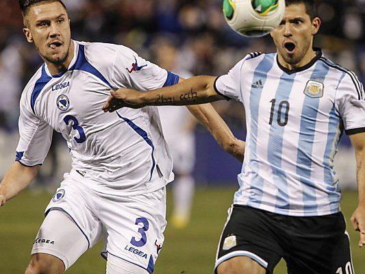 Aguero erzielte bei 2:0-Sieg beide Tore