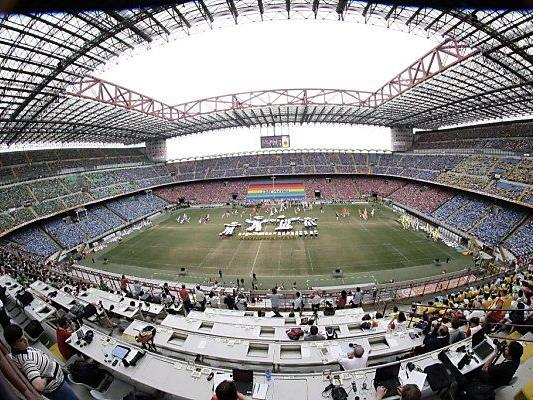 Veraltet: Giuseppe-Meazza-Stadion in Mailand