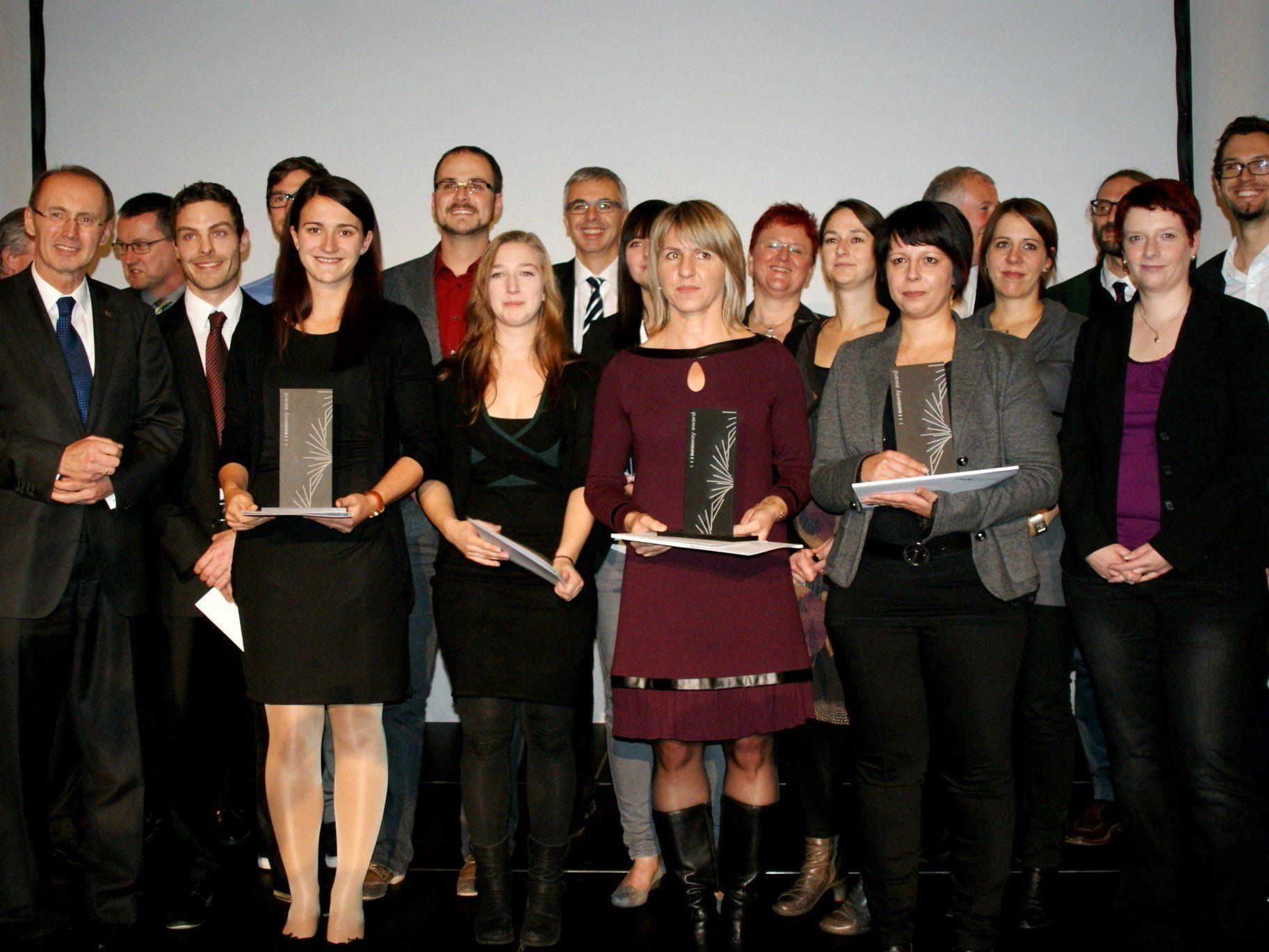 Die Preisträger des Newway Award 2013