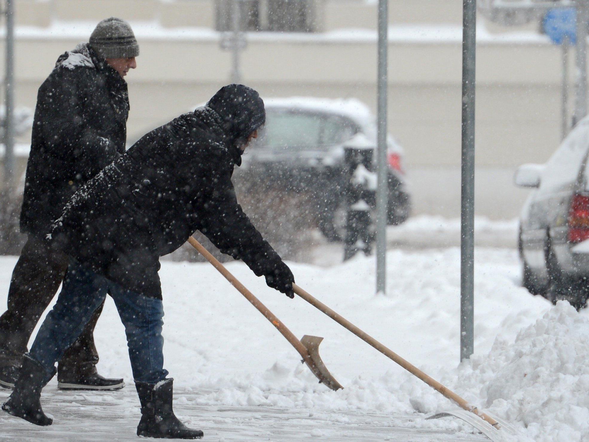 Wiener Wohnen ist auf die ersten Schneefälle bereits eingestellt.