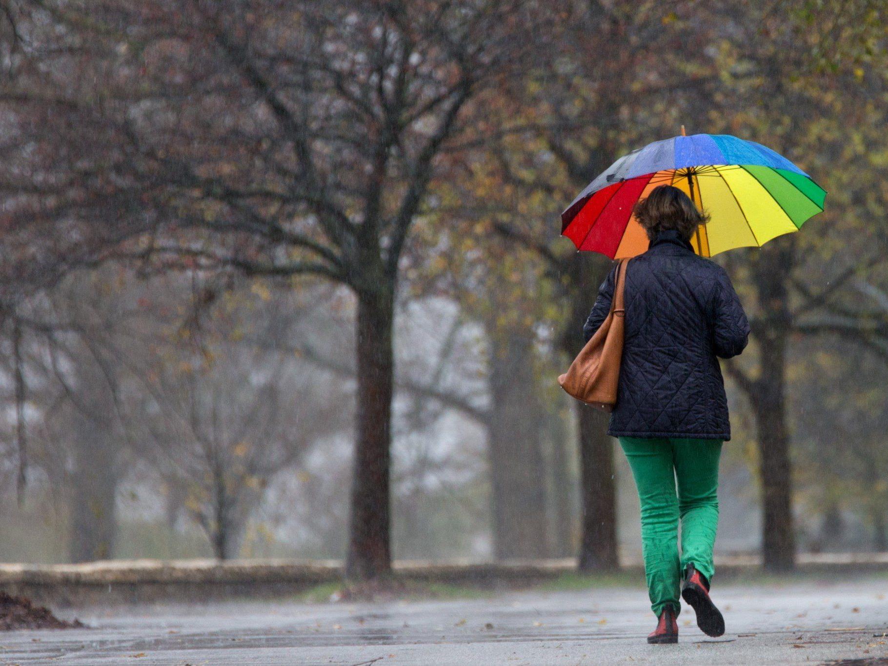Wetter in der kommenden Woche: Wolken, Wind und Niederschlag
