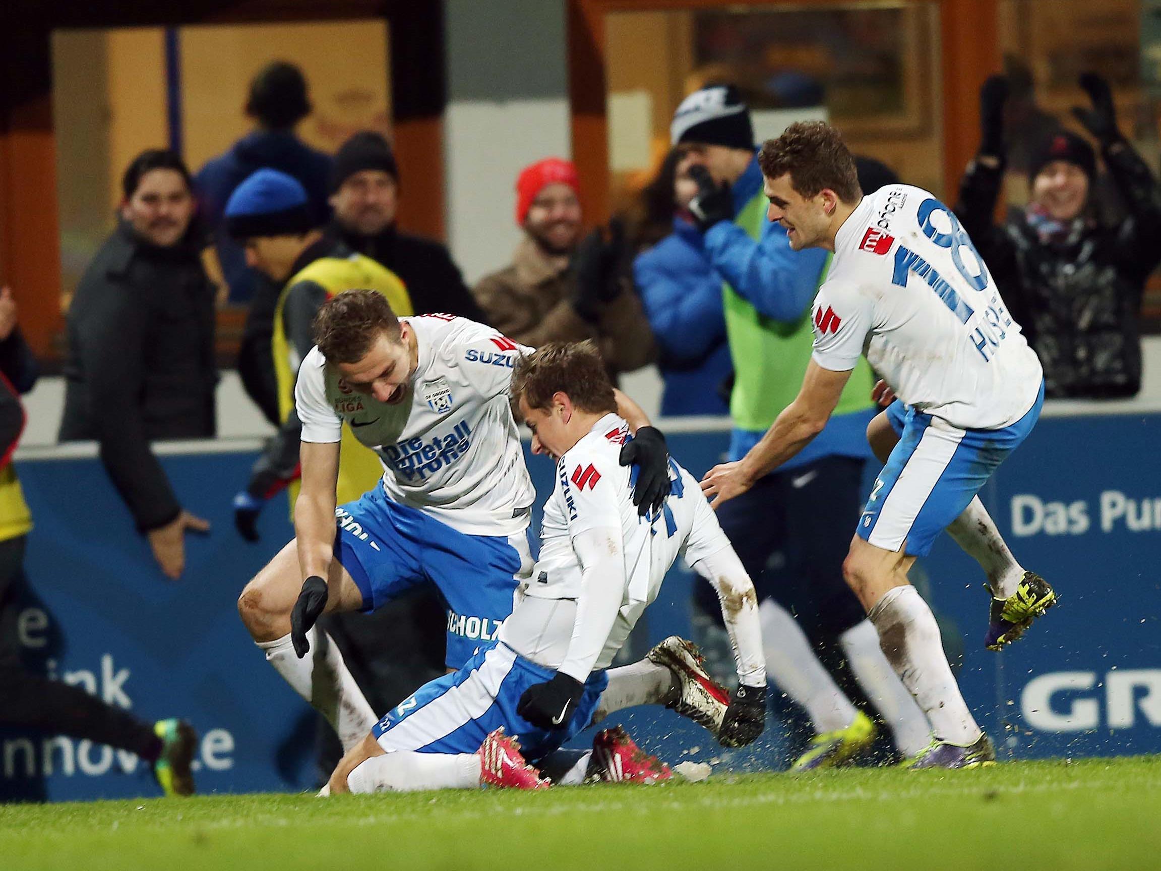 Grödig - Austria 3 - Aufsteiger bezwang Meister 1:0