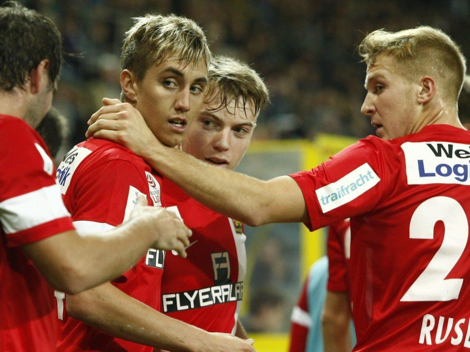 LIVE: Wir berichten ab 19.00 Uhr live vom Spiel FC Admira Wacker Mödling gegen Red Bull Salzburg im Ticker.