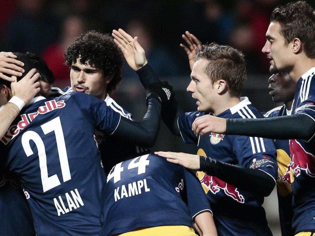 LIVE: Das Spiel zwischen Red Bull Salzburg gegen Sturm Graz im Ticker.