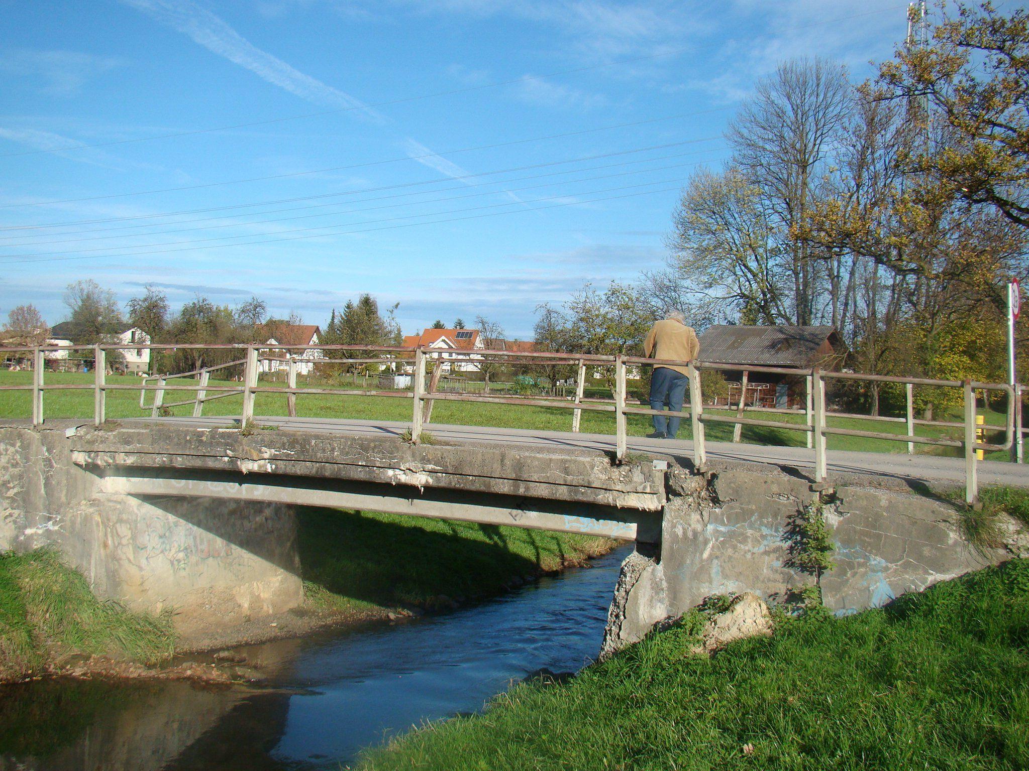 Brücke Streueried