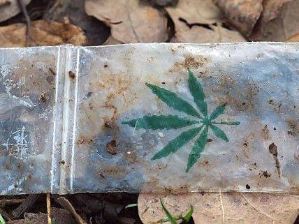 Baggies mit Cannabis wurden sichergestellt