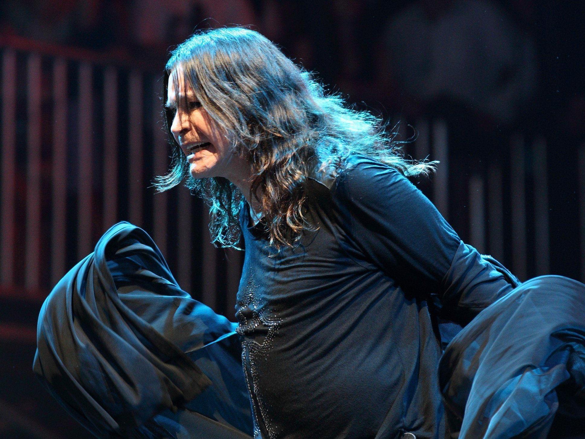 Ozzy Osbourne beehrt mit Black Sabbath das Nova Rock Festival 2014.