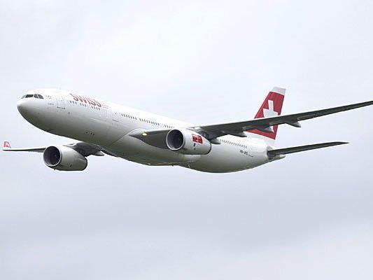 Ein Airbus der Swiss musste in Wien sicherheitslanden