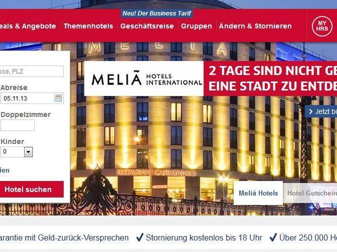 Bestpreisgarantie: Größtes Online-Portal HRS bereits zweimal vom Kartellamt abgemahnt.