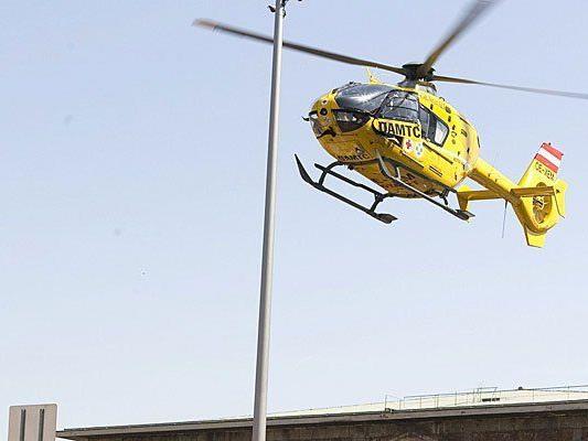 Der Notarzthubschrauber musste ein Unfallopfer abholen