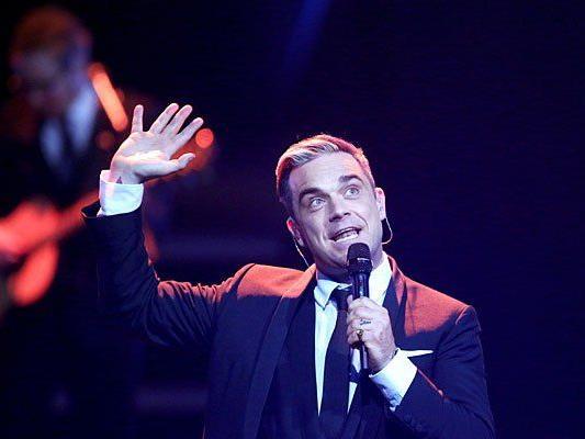 Zehn Jahre lang will Robbie Williams noch auf Tour gehen