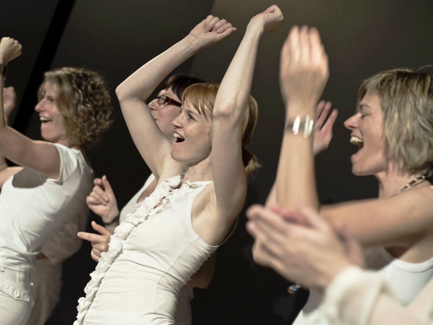 Die Freude an der Musik mit der Frohen Botschaft ist bei jedem Auftritt deutlich spürbar und lässt den Funken überspringen