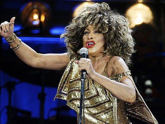 Tina Turner im Hallenstadion in Zürich.