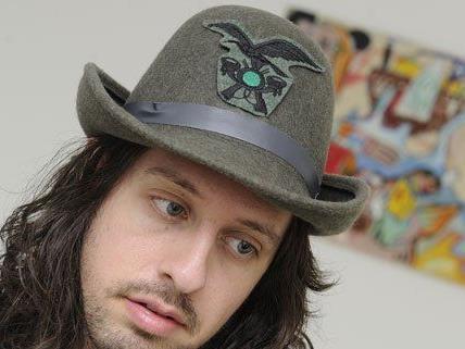 Bilder von Adam Green werden in Wien ausgestellt.