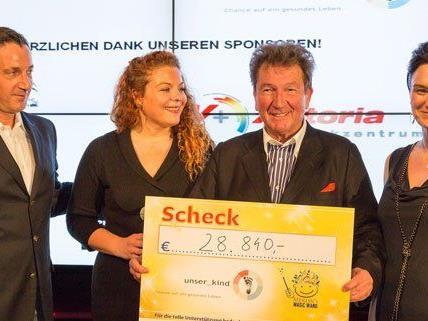 28.840 Euro kamen bei der Auktion in Wien zusammen.