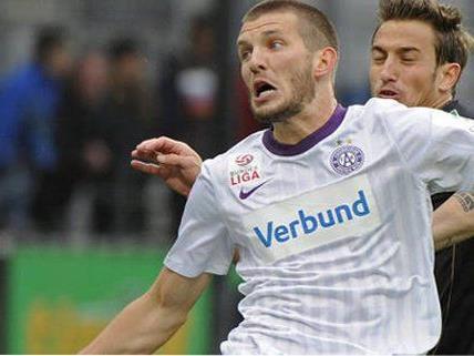 Die Wiener Austria startet gegen in Innsbruck in ein hartes Jahresfinish