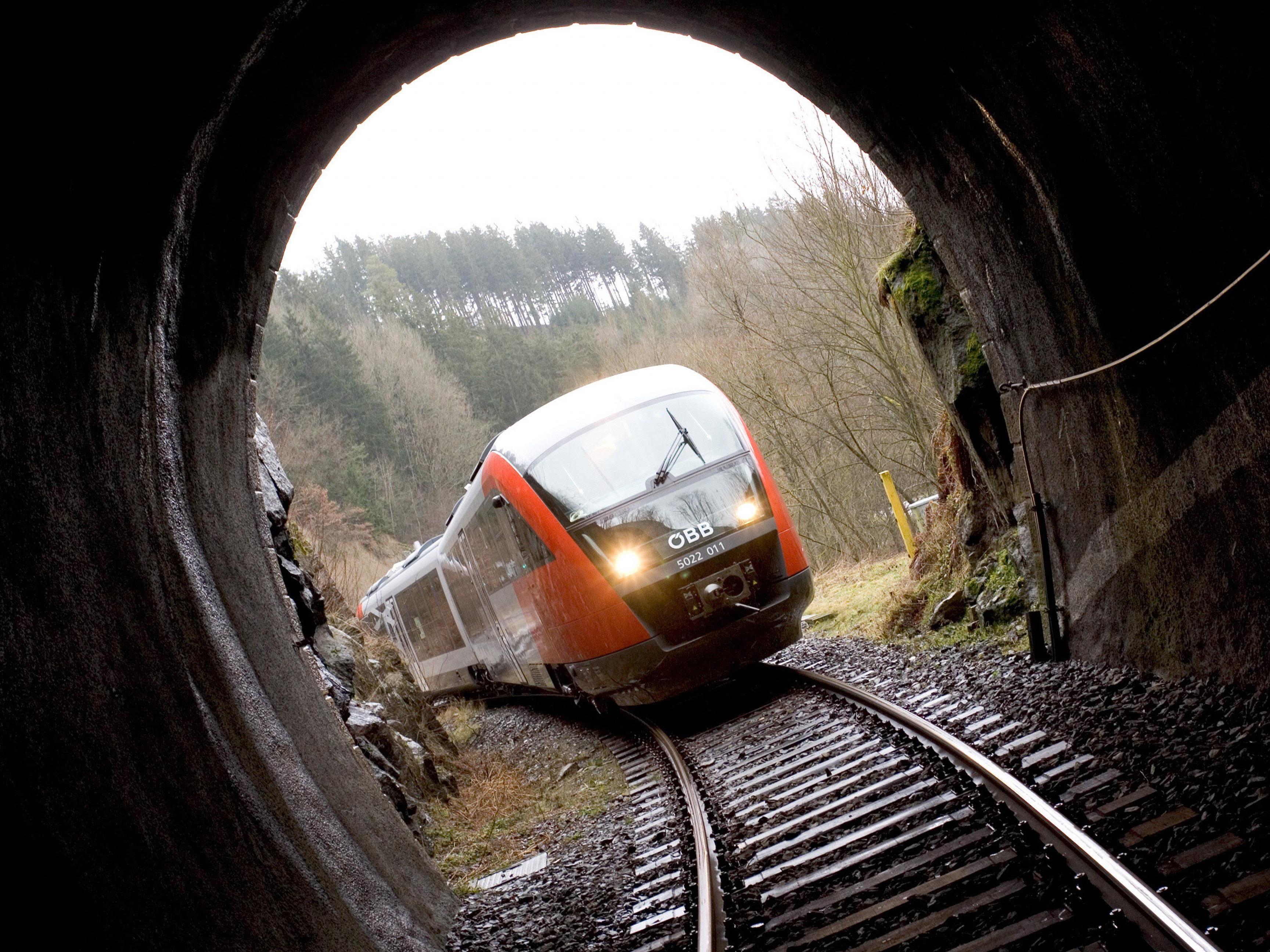 Gefunden wurde die mumifizierte Leiche in der Nische eines Bahntunnels.
