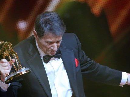 Udo Jürgens bei der Bambi-Verleihung in Berlin.
