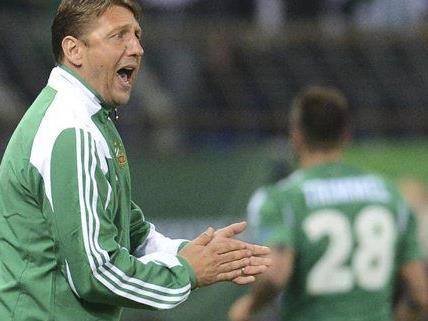 Zoran Barisic geht mit Selbstvertrauen in die Europe League Partie gegen Genk.