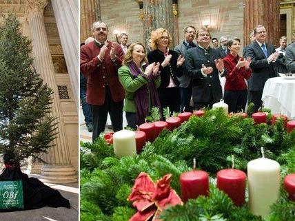 Heuer stammt der Weihnachtsbaum aus Bad Ischl.