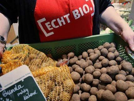 Am Donnerstag hat ein neuer Bio-Supermarkt in Wien aufgemacht.