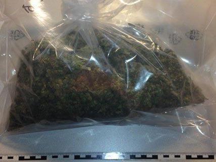 Drogen im Wert von 25.000 Euro wurden sichergestellt.