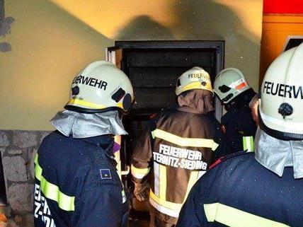 In Ternitz kam es zu einem Kellerbrand.