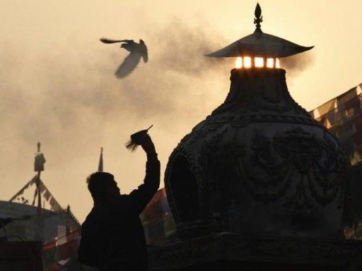 Flugblätter gegen Stupa-Bau waren Verhetzung